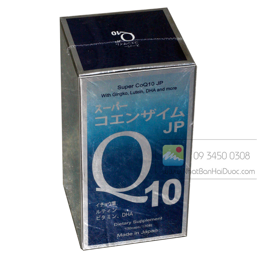 Super CoQ10 JP – Thuốc Điều Trị Suy Tim