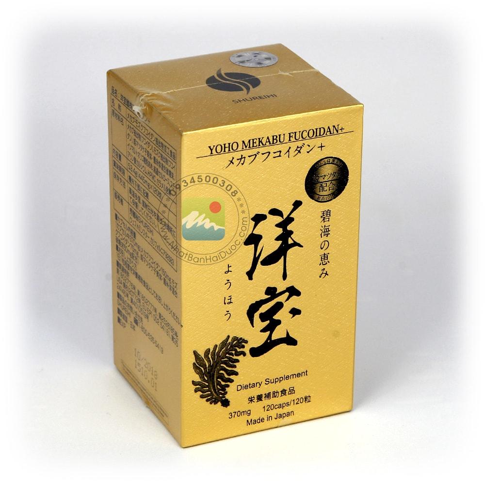 Thuốc Yoho Mekabu Fucoidan Nhật Bản – Điều Trị Ung Thư - hinh anh 2