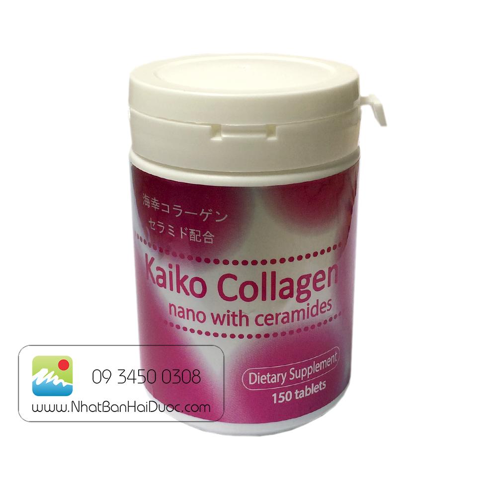 Viên Uống Kaiko Collagen Nhật Bản