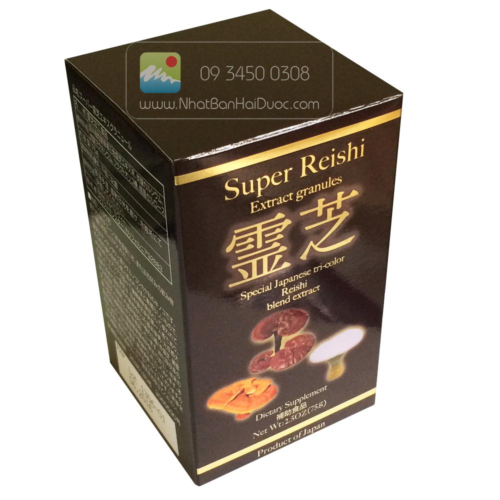 Nấm linh chi dạng bột Super Reishi Powder - hinh anh 2