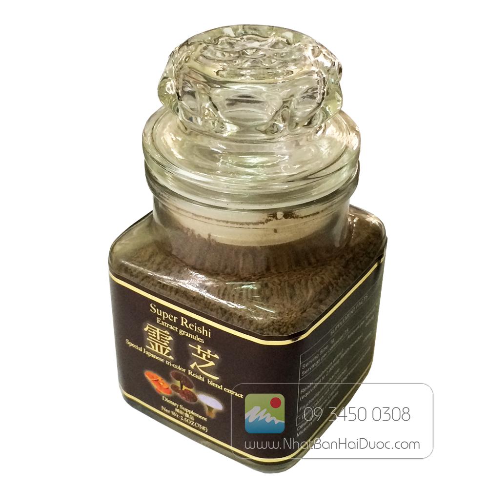Nấm linh chi dạng bột Super Reishi Powder - hinh anh 3