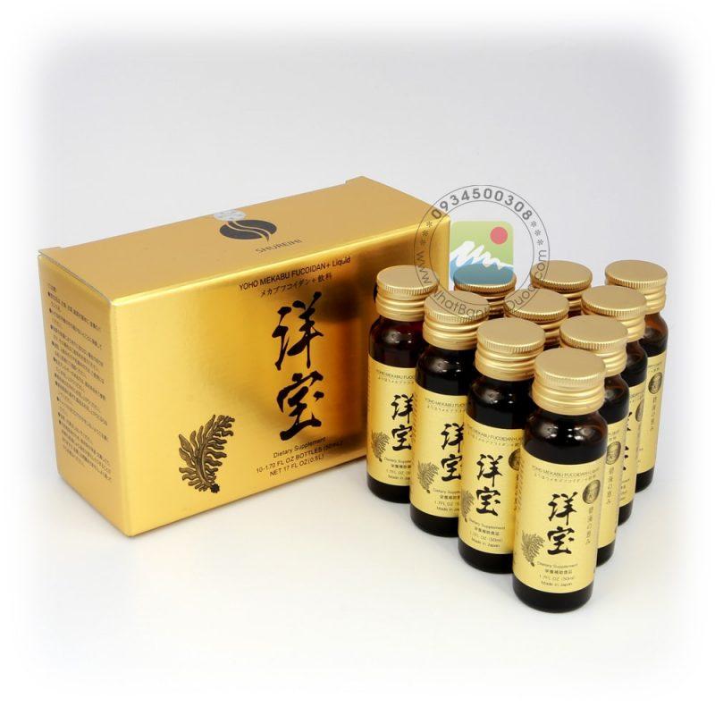 Fucoidan dạng nước - Fucoidan Nhật Bản dạng nước