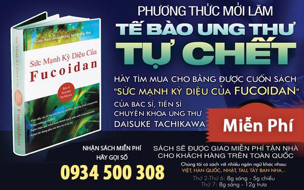 Sách Sức Mạnh Kì Diệu của Fucoidan
