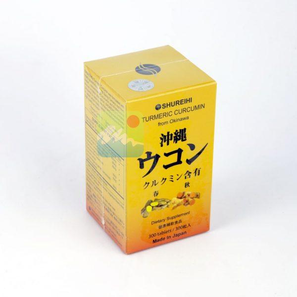 Nghệ Turmeric Curcumin Nhật Bản